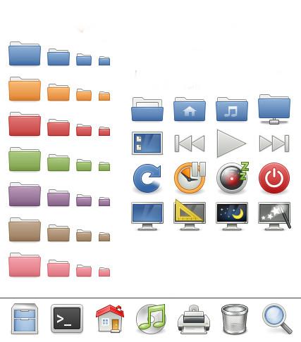 Linux dicas e suporte: gnome-colors icons theme para Debian e Ubuntu