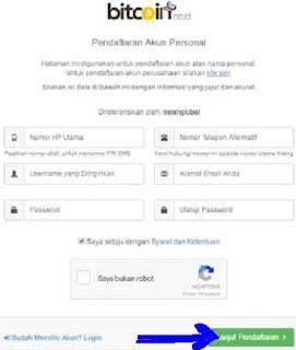 Cara Membuat Akun VIP Bitcoin Indonesia