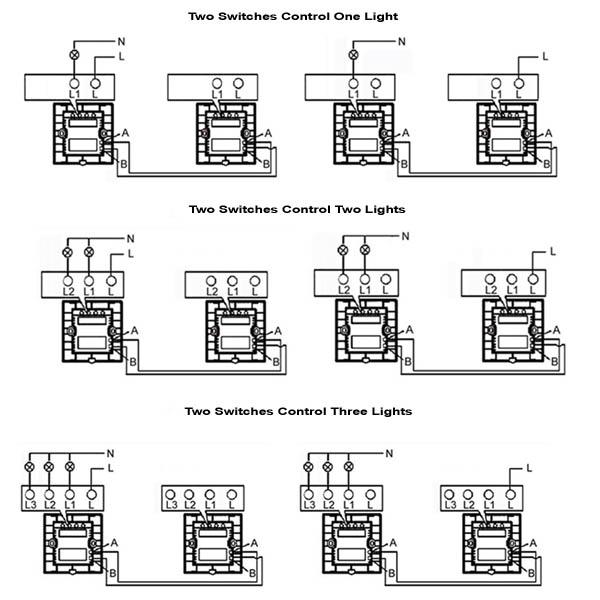 4 gang 1 way switch wiring diagram | comprandofacil.co 1 way 2 gang wiring diagram 1 light 2 switches wiring diagram