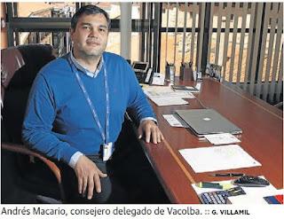 Andrés Macario, consejero delegado de Vacolba (El Norte de Castilla)