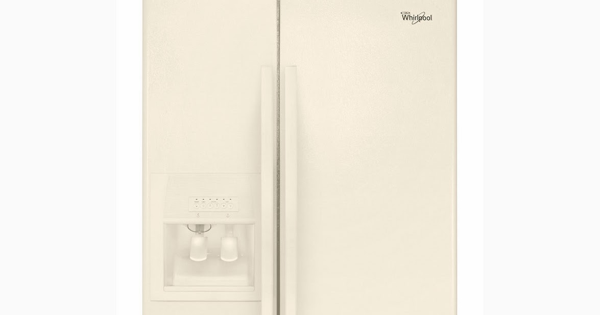 Whirlpool Refrigerator Brand Bisque Whirlpool Side By