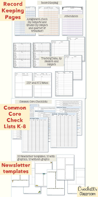 This is it!  The best teacher planner/binder ever!  Everything you need to keep your teaching life totally organized.