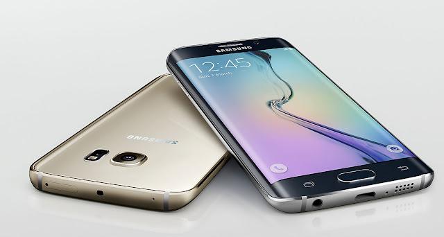 Hình ảnh chiếc điện thoại Samsung Galaxy s5 Edge