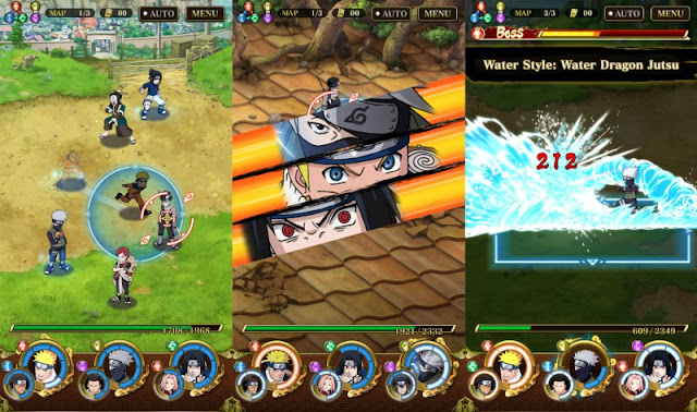 volition locomote dorsum to portion a phenomenal activeness game its yell is the Ultimate Ninja Blazing Ultimate Ninja Blazing 1.1.9 Mod Apk (High Damage + HP) latest