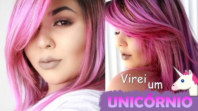Keraton hard colors, Panty Rose, Cabelo rosa, como deixar o cabelo rosa