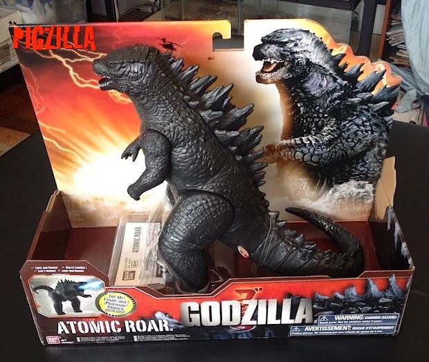 Kaiju Battle Lucky Fan Godzilla 2014 Toy