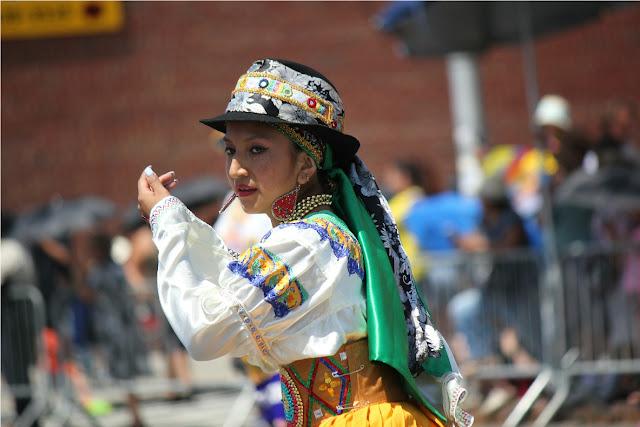 Foto de la cultura folclorica de los pueblos en Suramérica