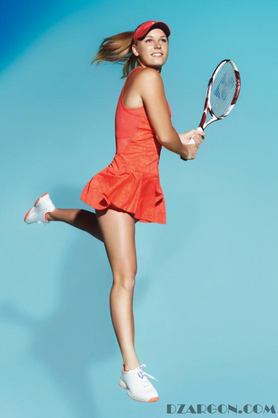 Pemain Tenis cantik asal denmark ini menempati urutan ketiga dengan penghasilan tertinggi dari produk yang di endorse. Ketenaran Caroline Wozniacki didapatkan setelah meraih kemenangan pada 23 ajang dengan persentasi kemenangan sebesar 72 persen untuk setiap pertandingan. Saat ini ia belum berada di puncak karir dan kemungkinan masih bisa menambah pundi-pundi penghasilannya di masa depan.
