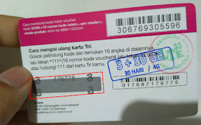 Voucher Isi Ulang 3