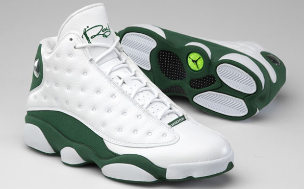 5802f6b75b68 Ray Allen s Limited Edition Air Jordan 13 PE Sneakers Hit Stores Today