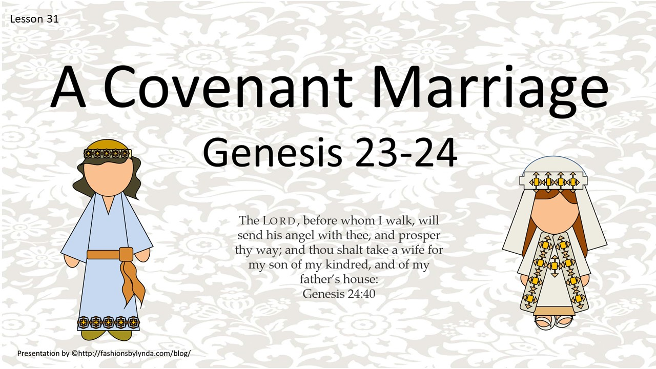Old Testament Seminary Helps: Lesson 31