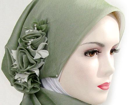 Salah Satu tampilan jilbab modern