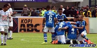 Susunan Pemain Persib Bandung vs PS Tira - Liga 1 Senin 26 Maret 2018