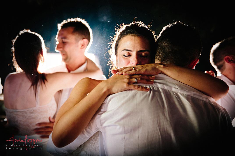 bride groom first dance italy wedding photographer