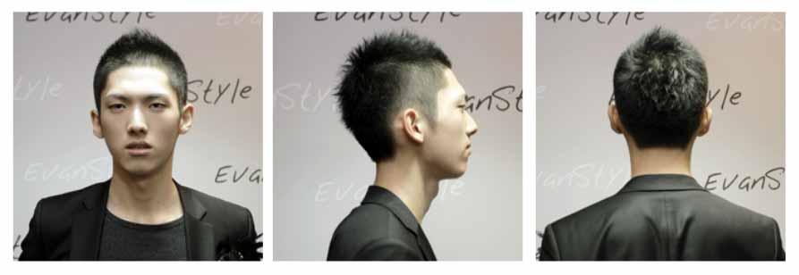 Model Rambut Pria Harajuku Pendek - Gaya rambut harajuku pendek pria