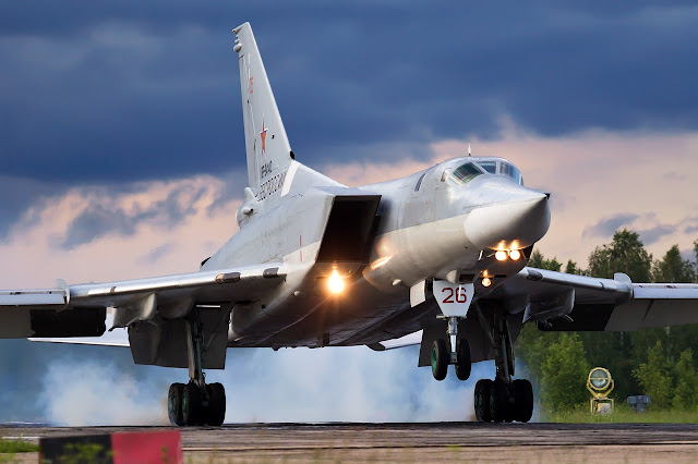 Tupolev Tu-22M Backfire Touch Down
