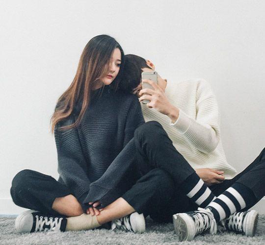 Chụp ảnh Avatar Dành Cho Cặp đôi Kiểu Hàn Quốc