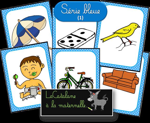 Images série bleue Montessori 1 - LaCatalane