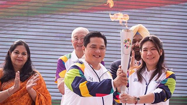 Obor Asian Games 2018 Singgahi Kalsel
