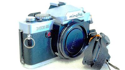 Minolta XG-9 (Chrome) Body #476