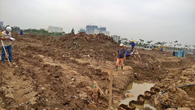Tiến độ thi công An Bình City