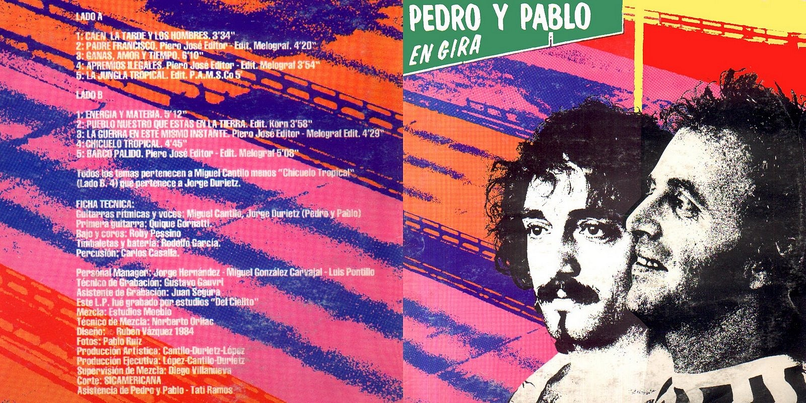 Cabeza de Moog !: Pedro y Pablo - Pedro y Pablo \'En Gira\' (1984-1992)