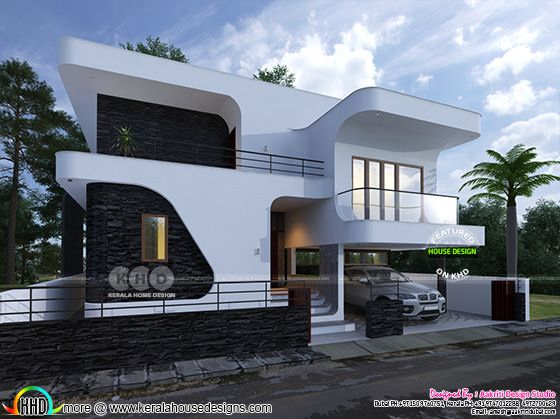 Beautiful flowing style design for a contemporary home