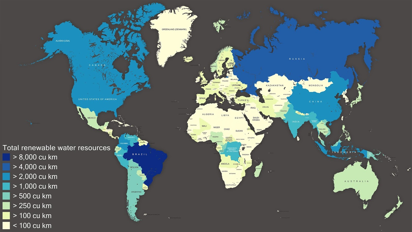 Total renewable water resources