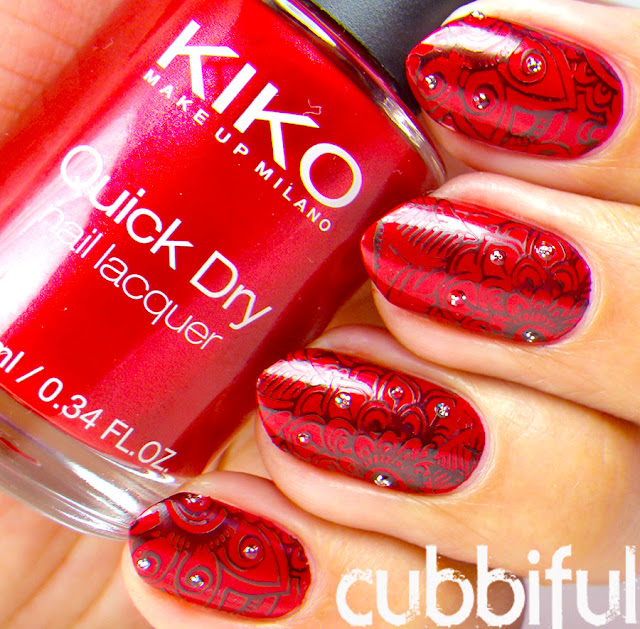 Kiko No.846 Metallic Red