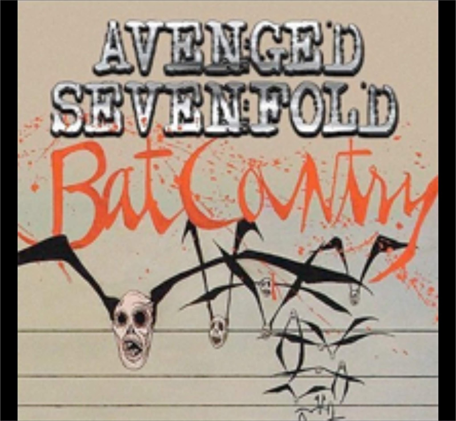 Avenged Sevenfold - Bat Country (Lyrics + Chord) - MyFourTen