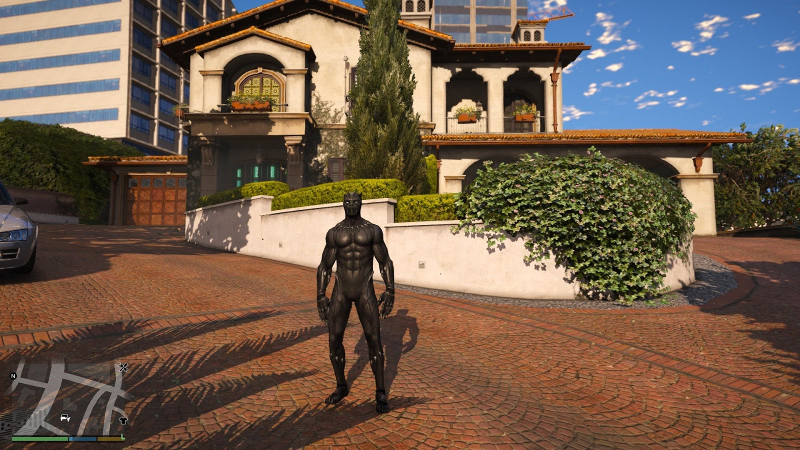 Black Panther [Add-On / Replace PED] GTA5 - GamesMods17