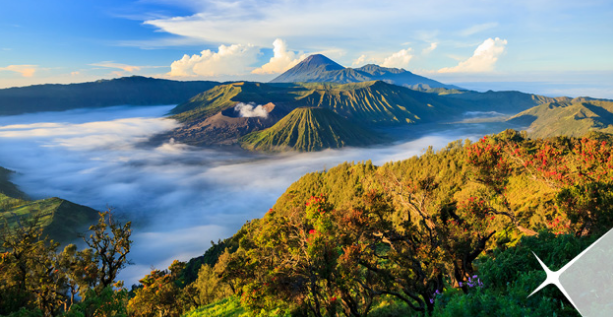 4 Sights Indonesia Favorite Destinations So that foreign tourists