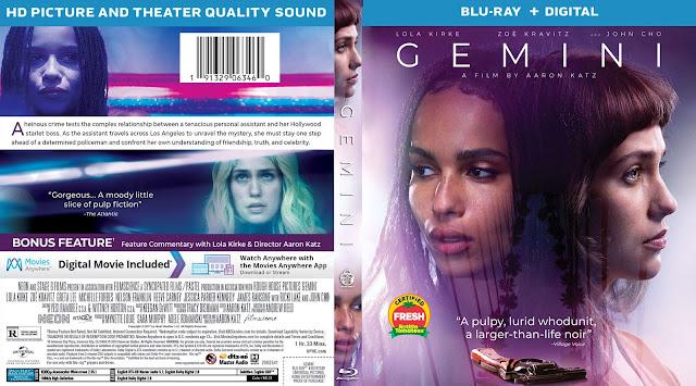 Gemini Bluray Cover
