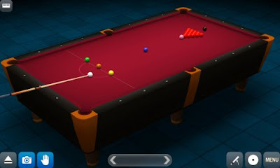 Tampilan Game Pool Break Pro 3D Billiards
