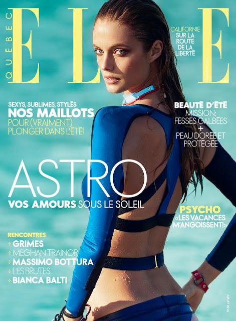 Fashion Model, @ Kate Bock on Elle Québec July 2016