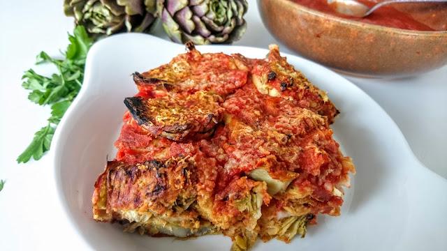 Vegan Gluten Free Artichoke Parmigiana Recipe 1