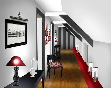 art d co id e d co couloir. Black Bedroom Furniture Sets. Home Design Ideas