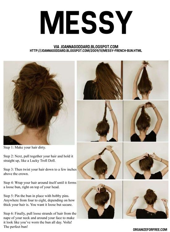 new-simple-messy-hairstyles-clutcher-for-girls-1