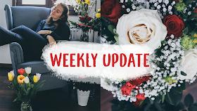 Weekly Update, Buchblogger, Studium, Geburtstag