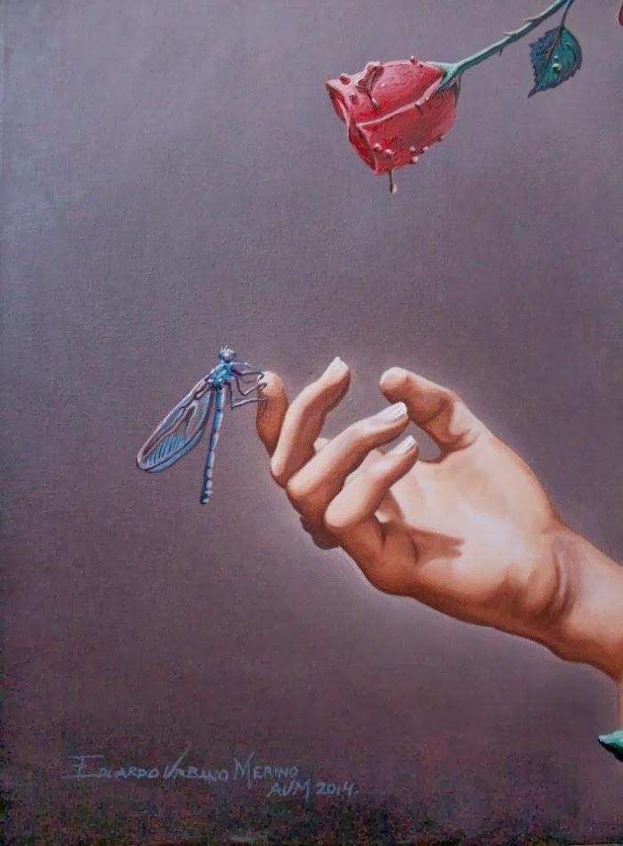The Dragonfly and the rose. Eduardo Urbano Merino 11