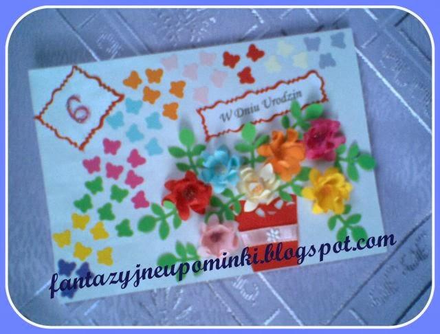 58df95f4 Jakiś czas temu ogłaszałam na blogu (klik), że 27 października Oliwka  obchodzi 6 urodziny. Jej marzeniem jest zdobycie jak największej liczby  karteczek.