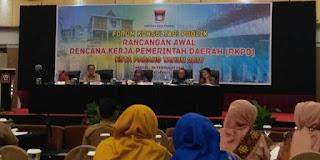 2019, Pemko Padang Prioritaskan 5 Program