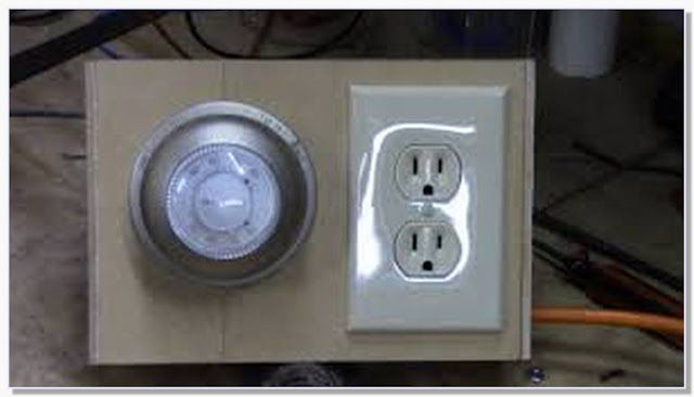 DIY thermostat controlled outlet