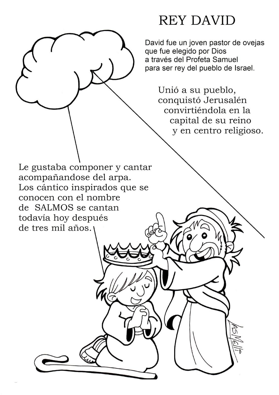 El Rincon De Las Melli Diccionario Ilustrado Rey David