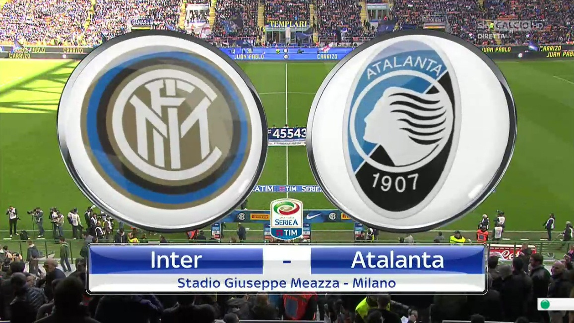 DIRETTA streaming INTER-ATALANTA dove vederla LIVE Web e in TV