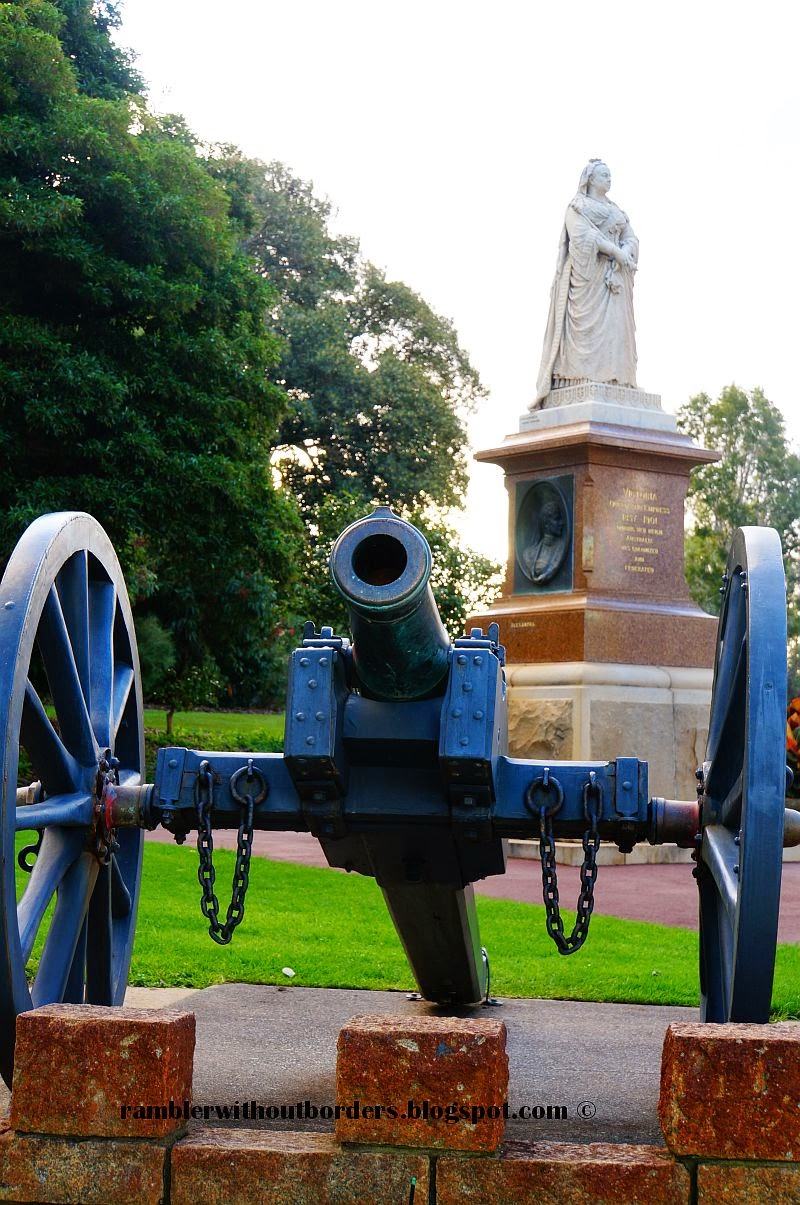 Queen Victoria Memorial, Kings Park, Perth, WA, Australia