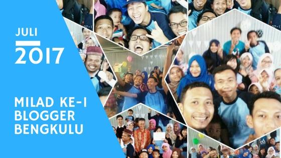 Syukuran Ceria, Puncak Perayaan Milad Pertama Blogger Bengkulu