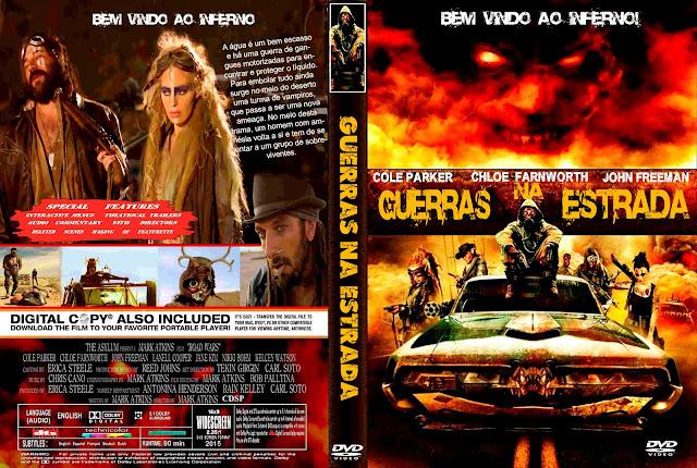 Capa DVD Guerras Na Estrada