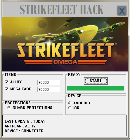 Strikefleet Omega Hack ~ modnewgame