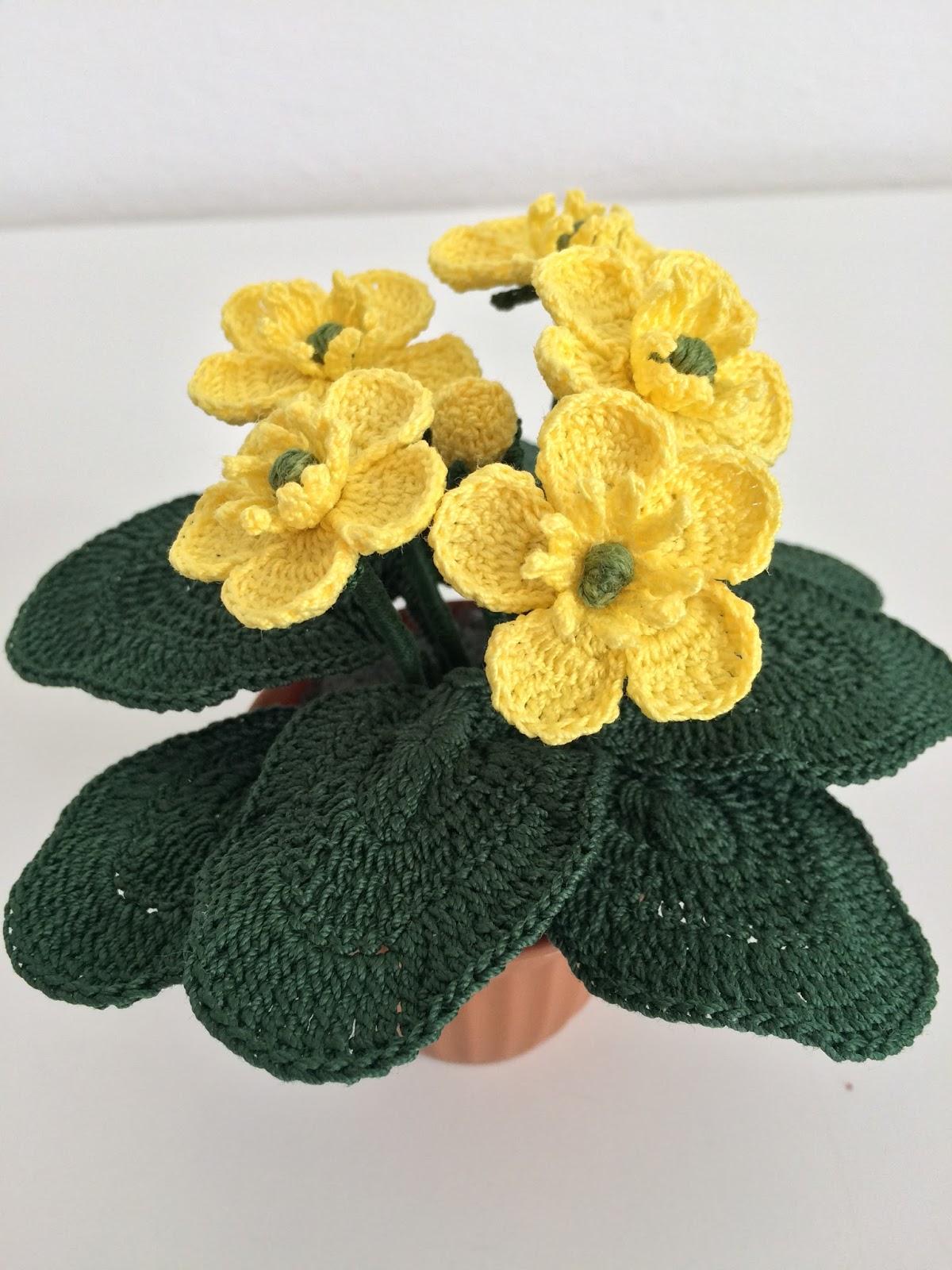 Crochet Butter Cup Flowers Gardening Flower And Vegetables